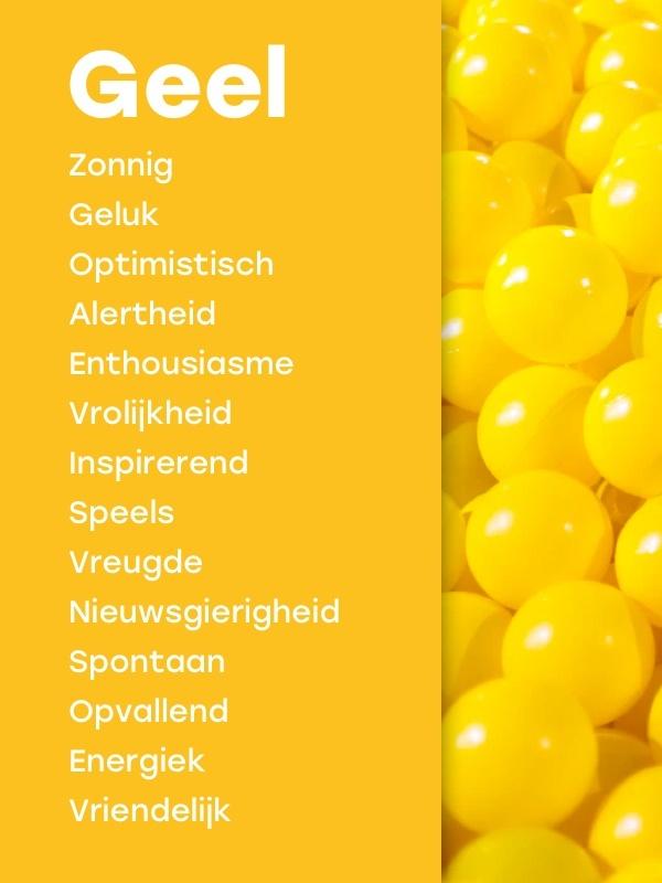 Betekenis kleur geel marketing