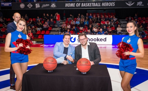 Heroes Basketball Den Bosch and Get Hooked form partnership