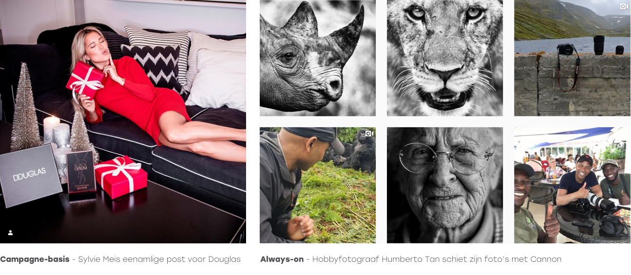 Humberto tan en sylvy meijs influencers