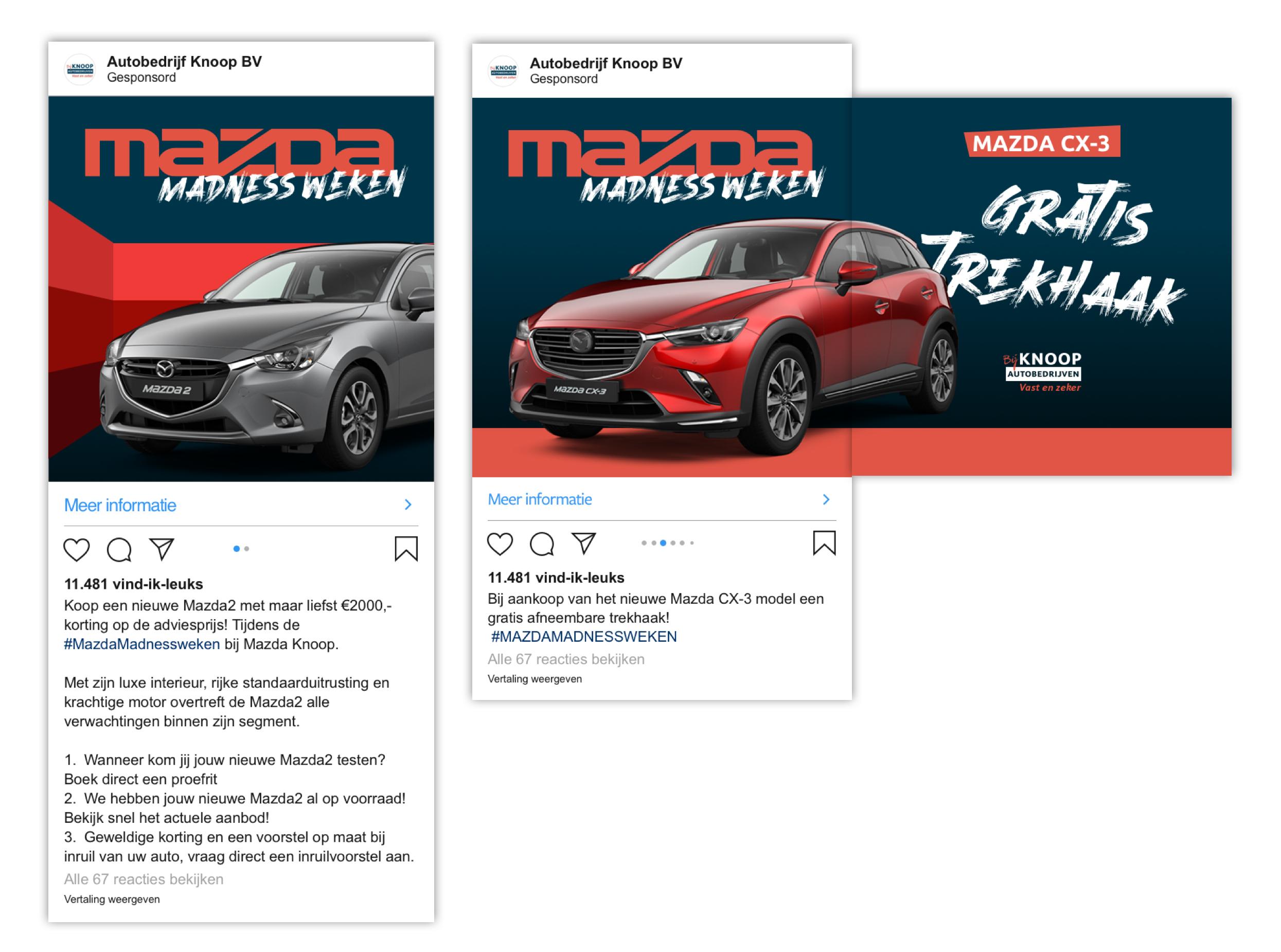 Mazda madness ads