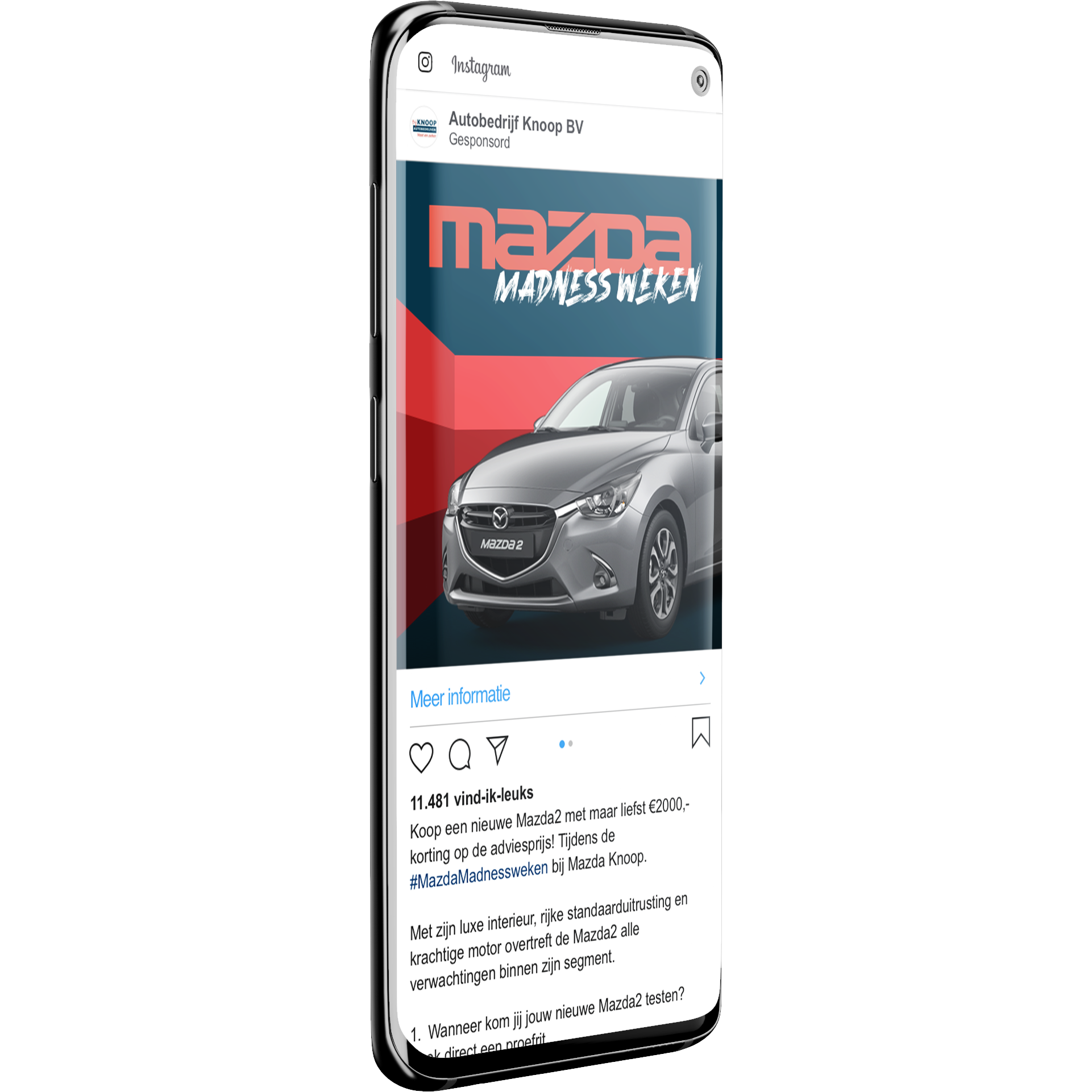 Mazda dealer Knoop